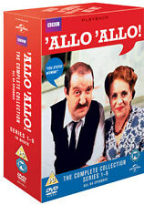 ALLO ALLO - SERIES 1 TO 9 COMPLETE BOXSET - DVD - REGION 2 UK
