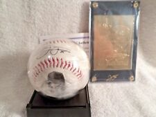 Frank Thomas NEW Autographed Replica Baseball with Gold Card
