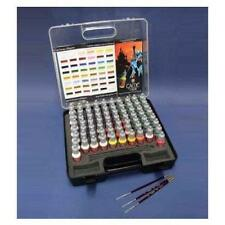 Vallejo 72 Game Colors & Brushes Set in Plastic Case VAL 72172