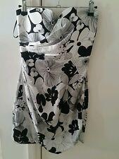 Designer Ladies Stapless Dress By Nicola Finetti Size 8