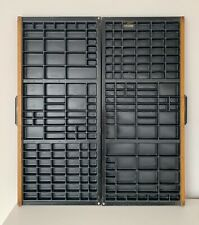 Vintage Printers Letterpress Tray Sold As A Pair