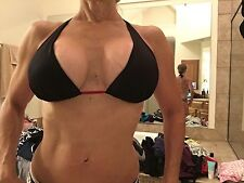 Magic bra black bikini top sz L Large push up/in  Excellent condition