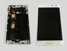 For Samsung Galaxy Note 4 edge N915F LCD Display Touch Screen+frame white+cover