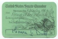 Thomas J. Dogg Signed Chamber Card Autographed Signature Politician Senator