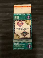 1993 World Series Baseball Ticket Game 5 Toronto Blue Jays Philadelphia Phillies