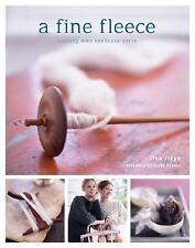 A Fine Fleece : Knitting with Handspun Yarns by Lisa Lloyd (2008, Hardcover)
