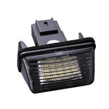 2 pcs 18 LED SMD License Number Plate Light Lamp for Peugeot 206 Citroen C3 X2B3