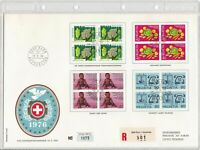 Switzerland Large Prestige 1976 Special Postage Stamps FDC Stamps Cover Ref26296