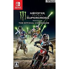 Milestone  Monster Energy Supercross NINTENDO SWITCH JAPANESE IMPORT REGION FREE