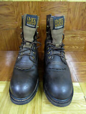 """Ariat Men's Workhog 8"""" Composite Toe Waterproof Brown Boots Size 11D"""