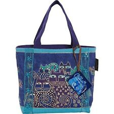 Laurel Burch Bag, 11 By 3 By 8-inch, Indigo Cats - Mini Bag Xx Tote Purse