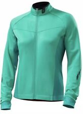 Specialized Women's Therminal Mountain Cycling Jersey LS Kelly green M New $140