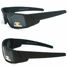Men Polarized Lens Gangster Matte Black OG Sunglasses Locs Biker