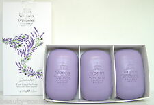 Woods of Windsor Lavender 3 x 100g perfumed Soap/Seife
