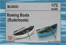 CMK Maritime ML80283 1/72 Resin Kit for Two Row Boats