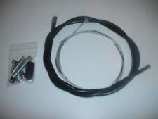 Universal Brake Clutch Cable Kit BSA Triumph Yamaha Flat Tracker Custom Bobber