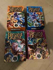 Beast Quest Series 1,2,3,4 Book Boxsets - Orchard Books