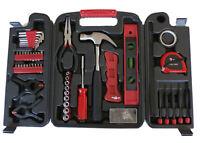 Werkzeugkoffer Werkzeugset Werkzeugkasten Fahrrad Werkstatt universal 134 teilig