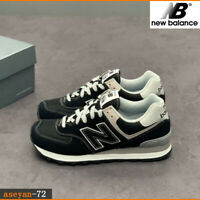 Brand new ---New Balance Men's 574 Ripstop new Balance suede Black Trainers size