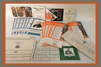 Vintage Insurance/Banking Advertising Cards-Northwestern/Hornbeck/Hartford/More
