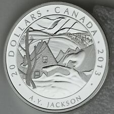 Canada 2013 A Y Jackson Saint-Tite-des-Caps 1 oz Silver $20 Proof #7 Group of 7