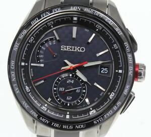 SEIKO Brights SAGA259 8B63-0AN0 Solar Powered Radio Men's Watch_605403