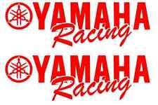 2 Yamaha Racing Decal RED Sticker Motocross Jetski Waverunner yz r6 r1 mx yzf