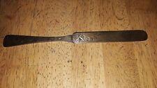 Antique Sterling Silver Engraved Design Towle Butter Knife > Estate Find