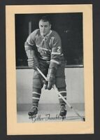 1944-63 Beehive Group II Montreal Canadiens Photos #290A Gilles Tremblay