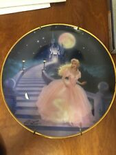 "Cinderella ""The Magic of Cinderella"" Franklin Mint Plate"