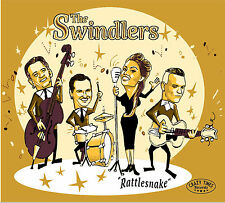 CD The Swindlers Rattlesnake 2017 ALBUM - Female Rockabilly Crazy Times Records