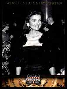 2012 PANINI AMERICANA HEROES & LEGENDS JACQUELINE KENNEDY ONASSIS FIRST LADY