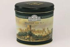 Vintage AHMAD TEA London Tin Box