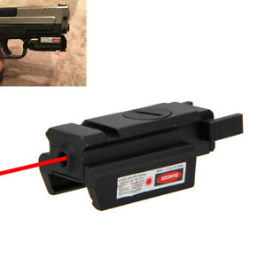Low Profile Compact Tactical Red Dot Laser Sight LED Lamp Weaver/Picatinny Rail