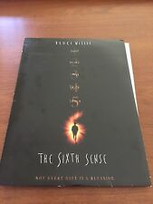 THE SIXTH SENSE 1999 Press Kit Folder, 5 Photos; BRUCE WILLIS HALEY, JOEL OSMENT