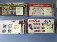 2005 2006 2007 2008  Commemoratives & Mini Sheet Presentation Packs + Year sets