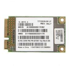 Lenovo 42T0961 Lenovo WWan Broadband 7.2Mb UNDP PCIe card  TESTED GOOD