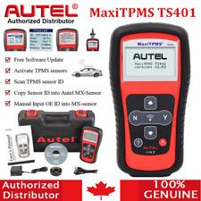 Autel MaxiTPMS TS401 TPMS Tire Pressure Sensor Activation Diagnostic Reader Tool