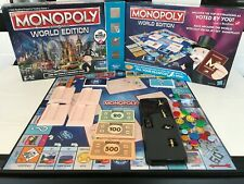 Monopoly Here and Now World Edition Game Hasbro Board Game