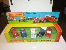 Matchbox Superfast Super Set Classy Classics Lesney MIB HTF