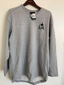 Adidas Los Angeles Galaxy Crewneck Sweatshirt