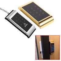 Touch Keypad Lock Cabinet Door Coded Lock Digital Electric Locker Without Keys