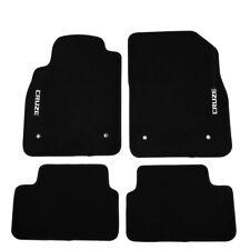 Fit For 08-16 Chevrolet Cruze Sedan Black Nylon Floor Mats Carpets w/ Cruze