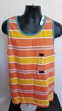 Vintage Nautica Color Block Striped Tank Top Shirt XL NEW NWT 426