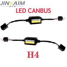1Pair H4 LED Headlight Canbus Decoder Error Free Anti Flicker Resistor Canceller