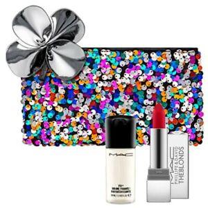 New,MAC 3/Set:Full size Phillipe Blond+Random Mini Setting Spray+ Makeup Bag