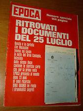 EPOCA 1966/811=DOCUMENTI MUSSOLINI=FRANCA VIOLA=COPPA RIMET PICKLES DOG FURTO=