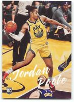 2019-20 Panini Chronicles #139 Jordan Poole Golden State Warriors RC