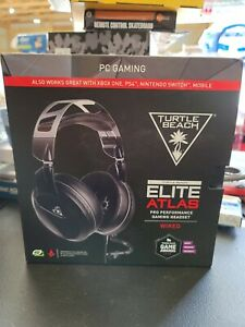 New Turtle Beach Elite Atlas Pro Performance PC Gaming Headset - Black (wired)