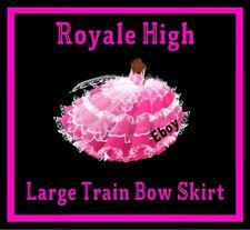 ROYALE HIGH - LARGE TRAIN BOW SKIRT RH, DIAMONDS *READ DESCRIPTION*